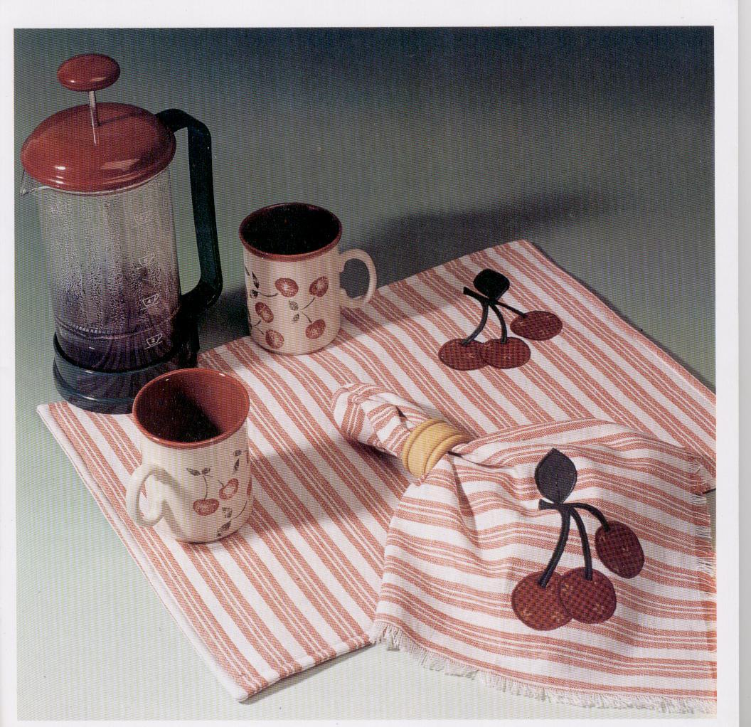 Manualidades con telas aplicaciones con tela para decorar for Manualidades para la cocina