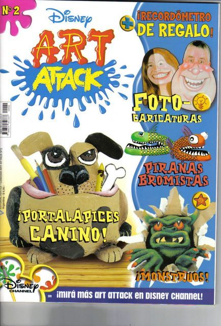Art Attack- no.2 - Portada