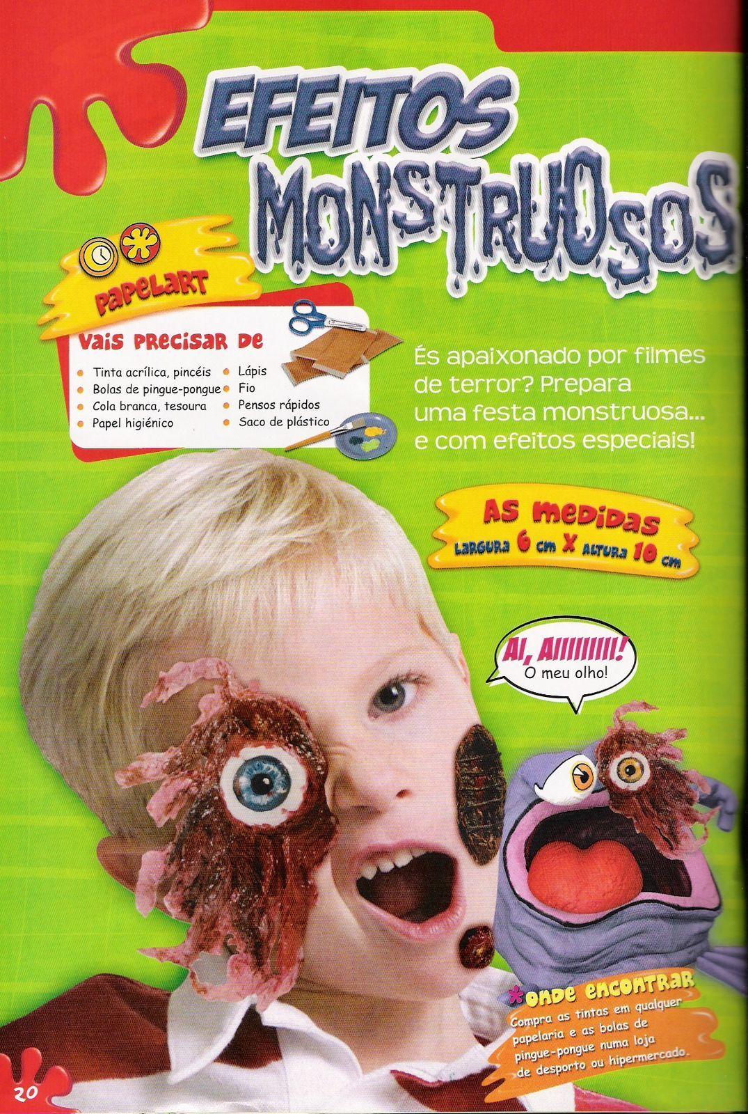 Art Attack Monstruos De Halloween Variasmanualidades S Blog