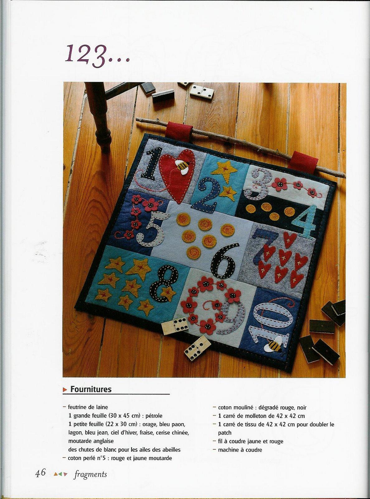 Fieltro abecedar o cojines para los mas peque os bolsos tapices alfileteros - Cojines pequenos ...
