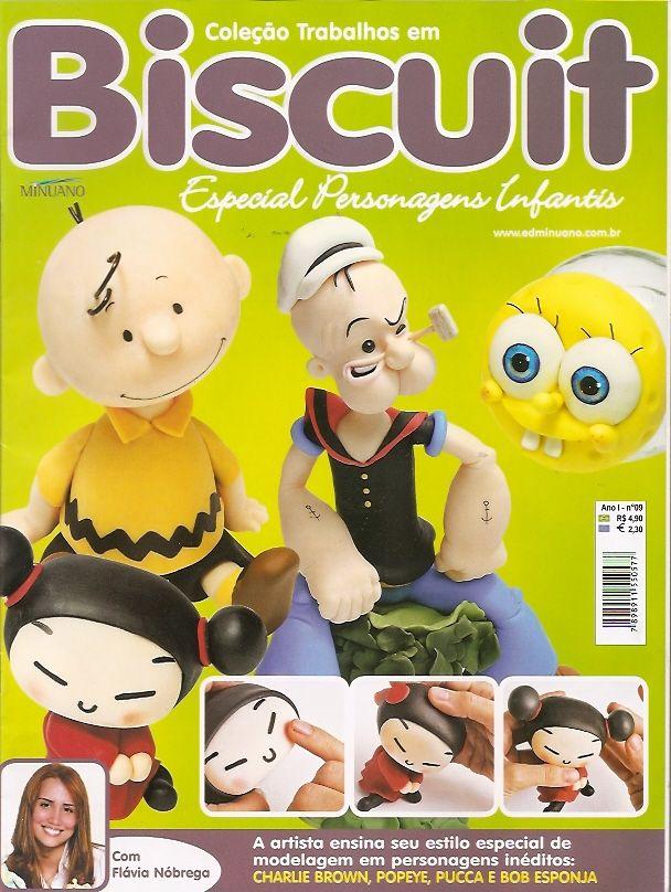 Revista Arte Fácil Personagens Infantis Popeye e Charles Brown