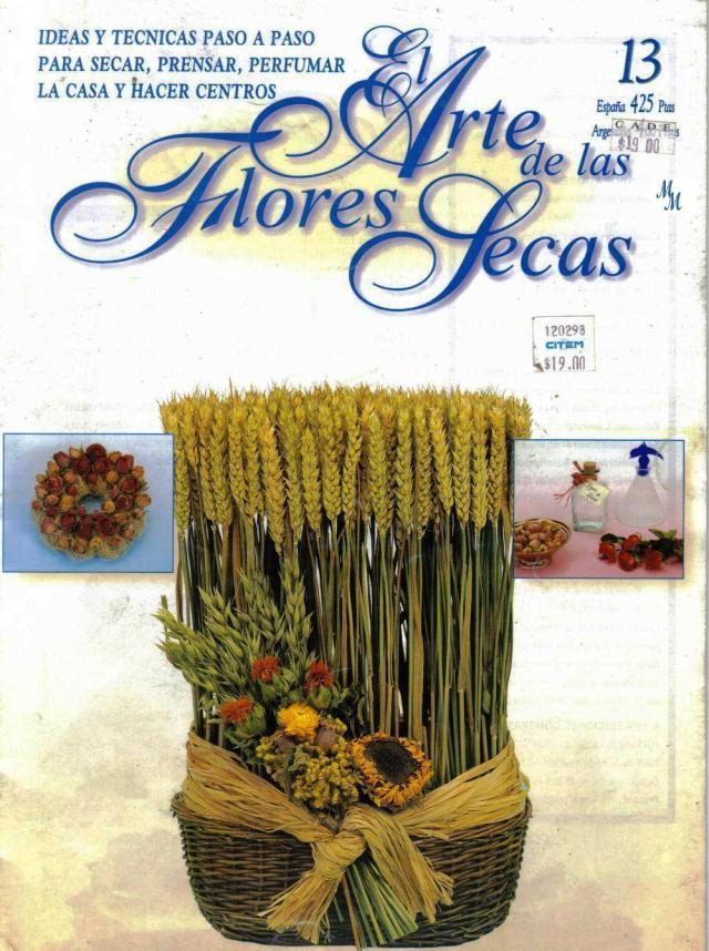 00 52 El Arte de las Flores Secas no.13 -1