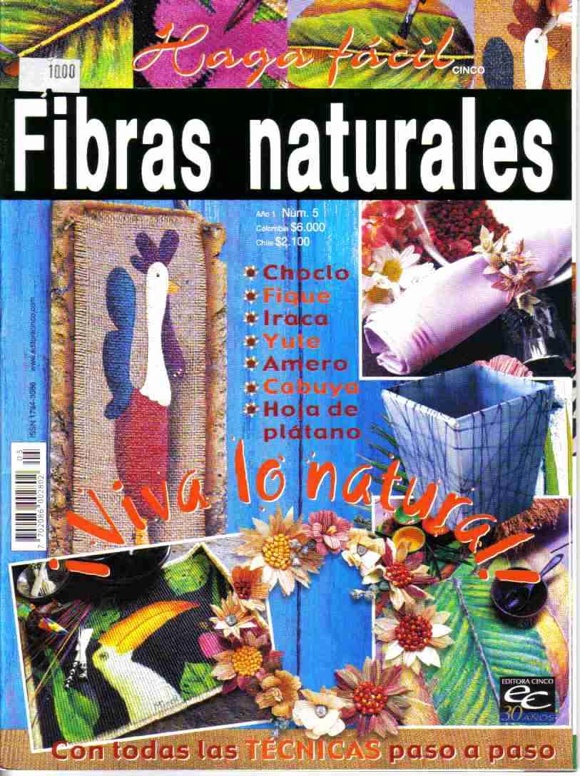 Fibras naturales yute hojas de pl tano iraca fique - Aromatizantes naturales para la casa ...