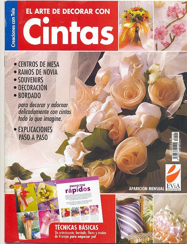 Entarios El     BORDADOS CON CINTAS  Centros De Mesa  Ramos De