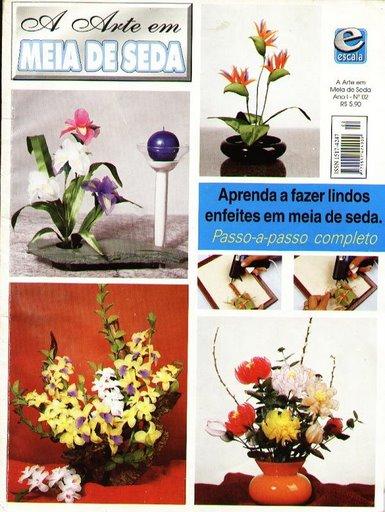 Media De Seda Aprende A Hacer Lindos Arreglos Florales En