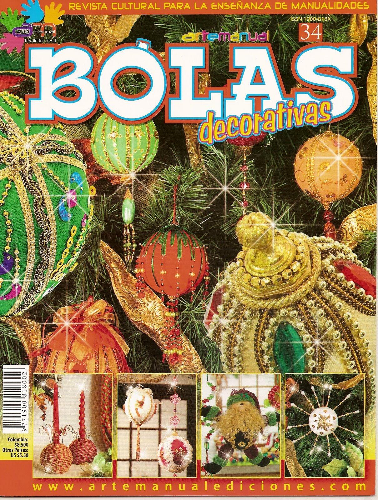 Navidad variasmanualidades 39 s blog - Bolas de navidad de fieltro ...