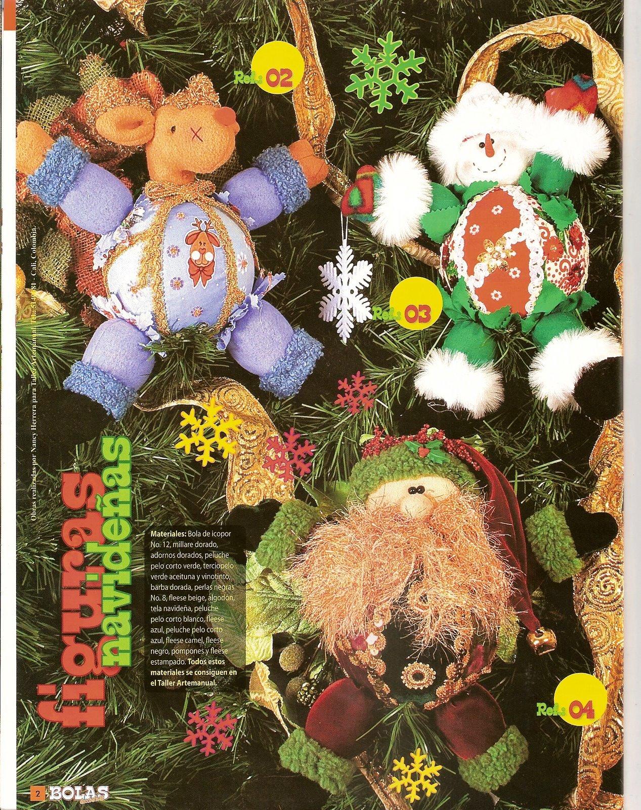 Bolas decorativas decora el rbol de la pr xima navidad - Bolas arbol navidad manualidades ...