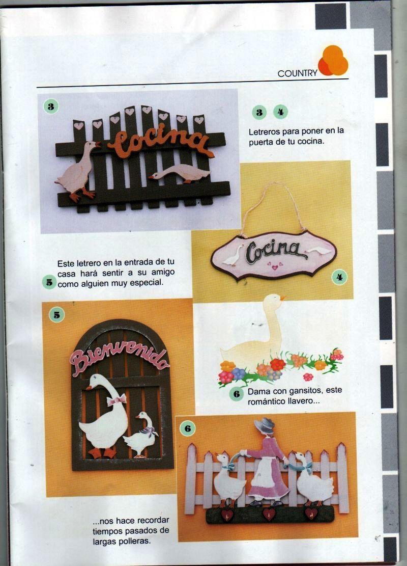 Pintura en madera cofres cajas arcones y bandejas for Enseres de cocina