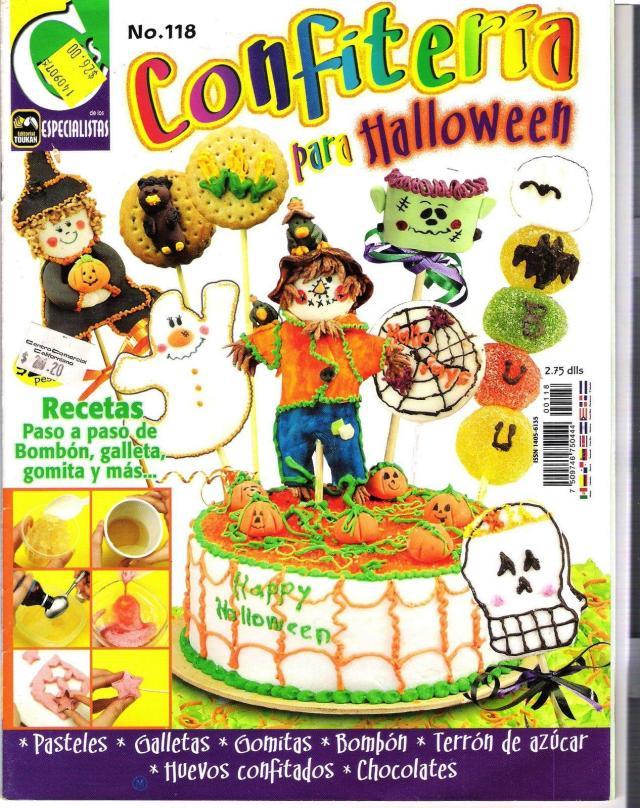 Revista confiteria para halloween