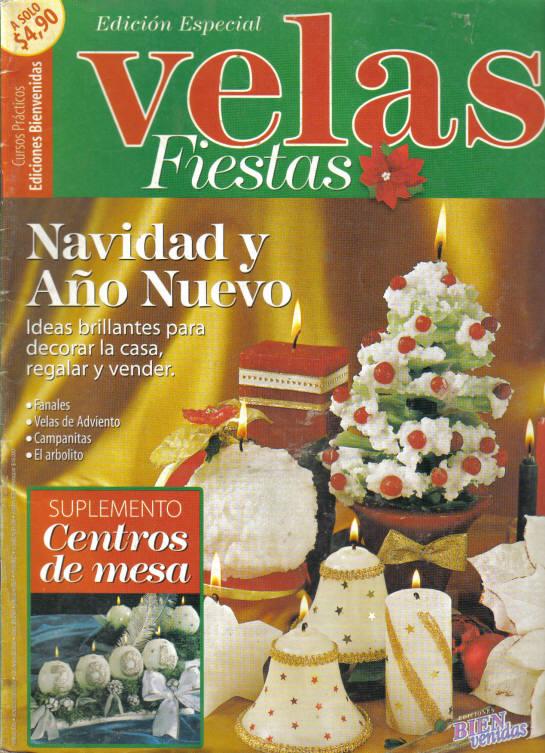 Velas ideas brillantes para adornar la casa regalar y - Adornar la casa en navidad ...