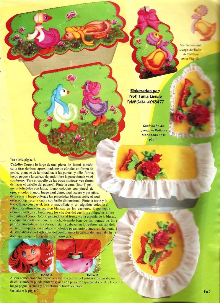 Juego De Baño Zona Norte:Juegos de baño en foamy Lenceria para el hogar ♥ Pinterest