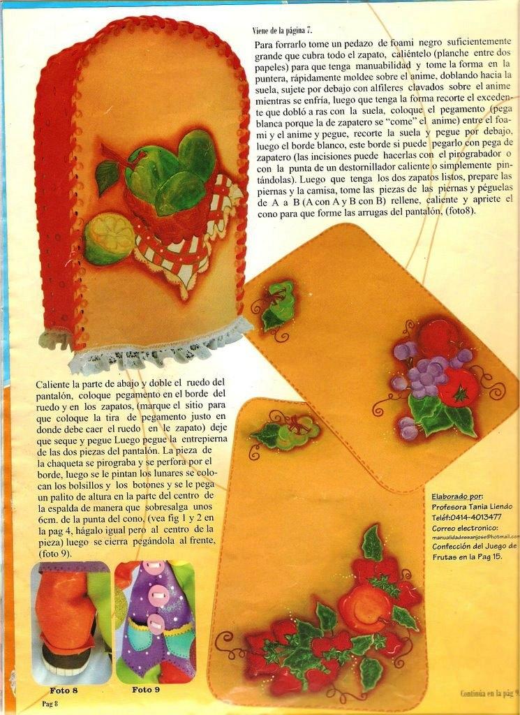 Juego de cocina en foami imagui for Juego9s de cocina