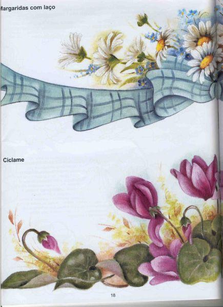PINTURA SOBRE TELA: Flores « Variasmanualidades's Blog
