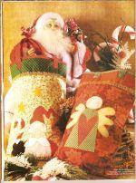 Arte em Patchwork - Especial Natal 12