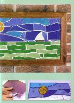 Manos Maravillosas Pintura sobre Vidrio  - 43