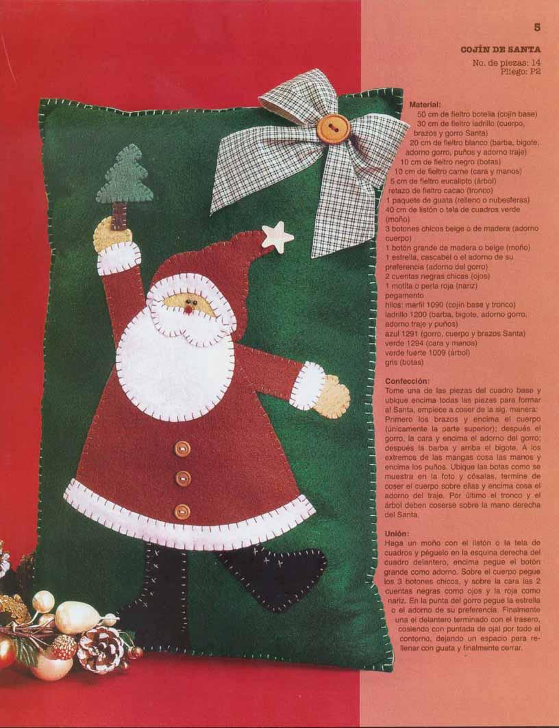 Mabi Luna Rbol De Navidad De Fieltro Manualidades Fieltro Para  ~ Manualidades De Fieltro De Navidad