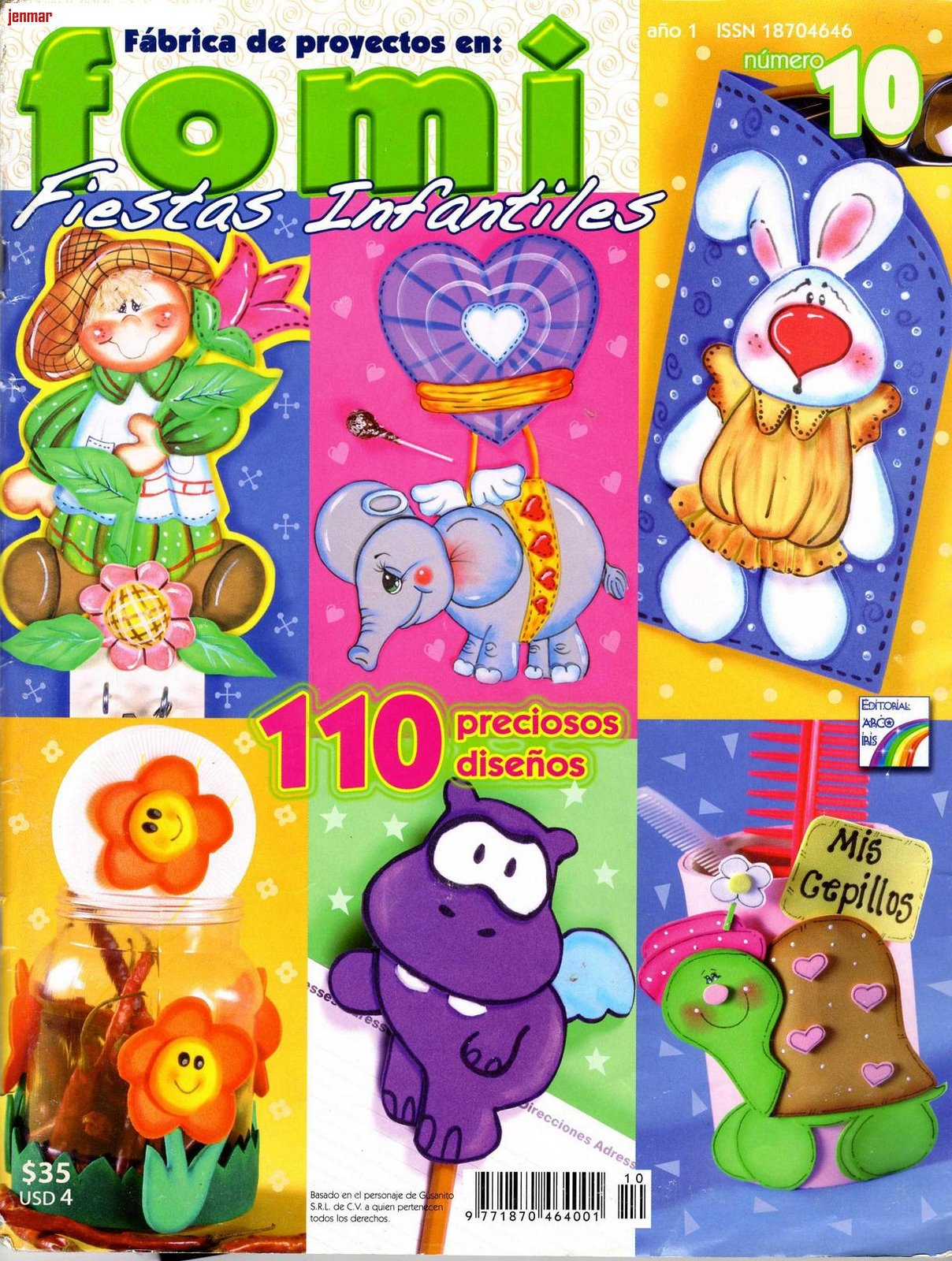 FOAMY: Fiestas infantiles, 110 hermosos diseños ...