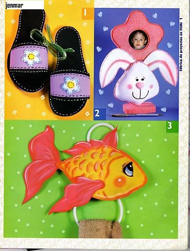 Decoracion De Baño En Fomi:FOAMY: Fiestas infantiles, 110 hermosos diseños « Variasmanualidades
