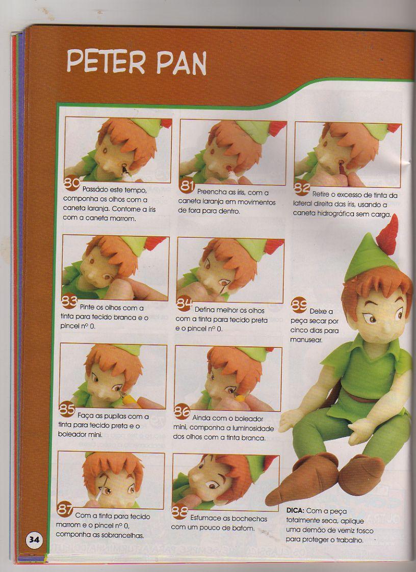 Peter Pan  Campanilla  BambaN  Dino   Todos Explicados Paso A Paso