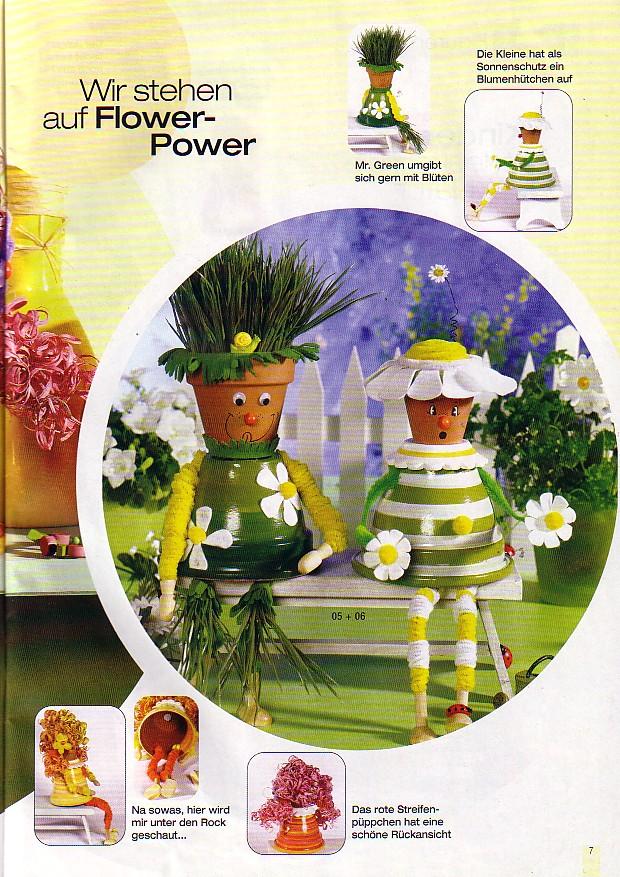Manualidades con macetas decora el jard n de tu casa la - Macetas para cocina ...