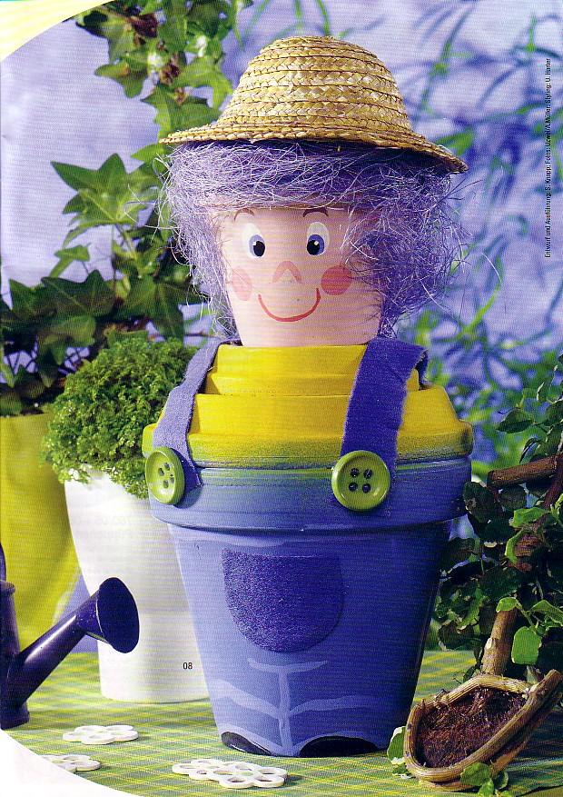 manualidades con macetas: decora el jardín de tu casa, la cocina