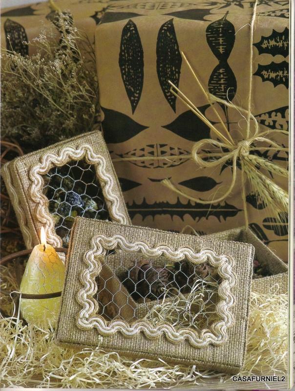 Cajas Decorativas Noviembre