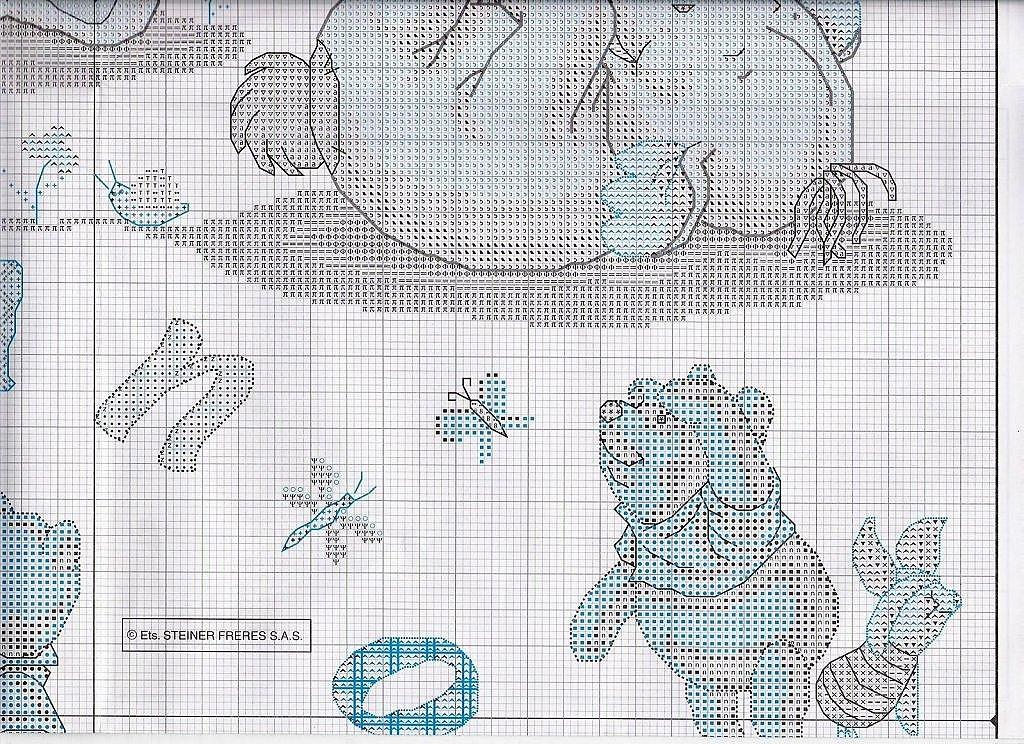 PUNTO DE CRUZ: Abecedarios de Winnie the Pooh y sus amigos ...