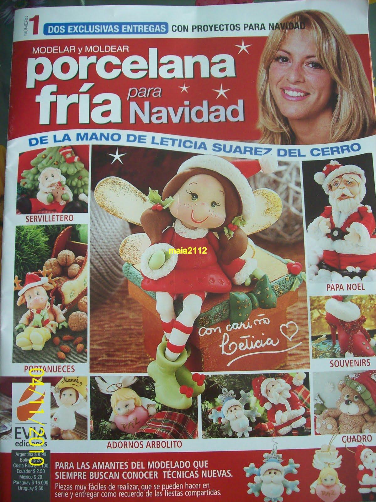 FR  A  Leticia Suarez Del Cerro  Revista De Navidad Del 2010