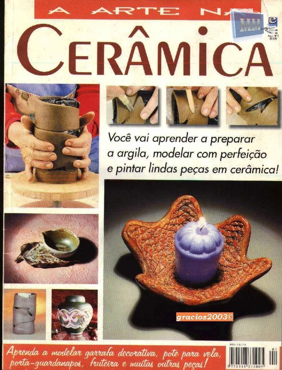 Cer mica f cil de aprender modela con arcilla distintas for Ceramicas para piezas