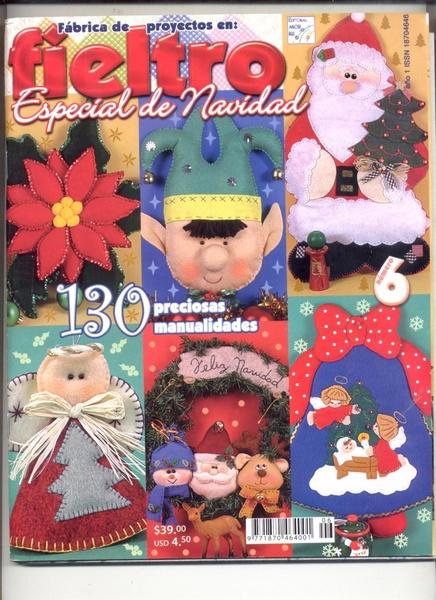 FIELTRO ESPECIAL NAVIDAD:130 preciosos modelos ...
