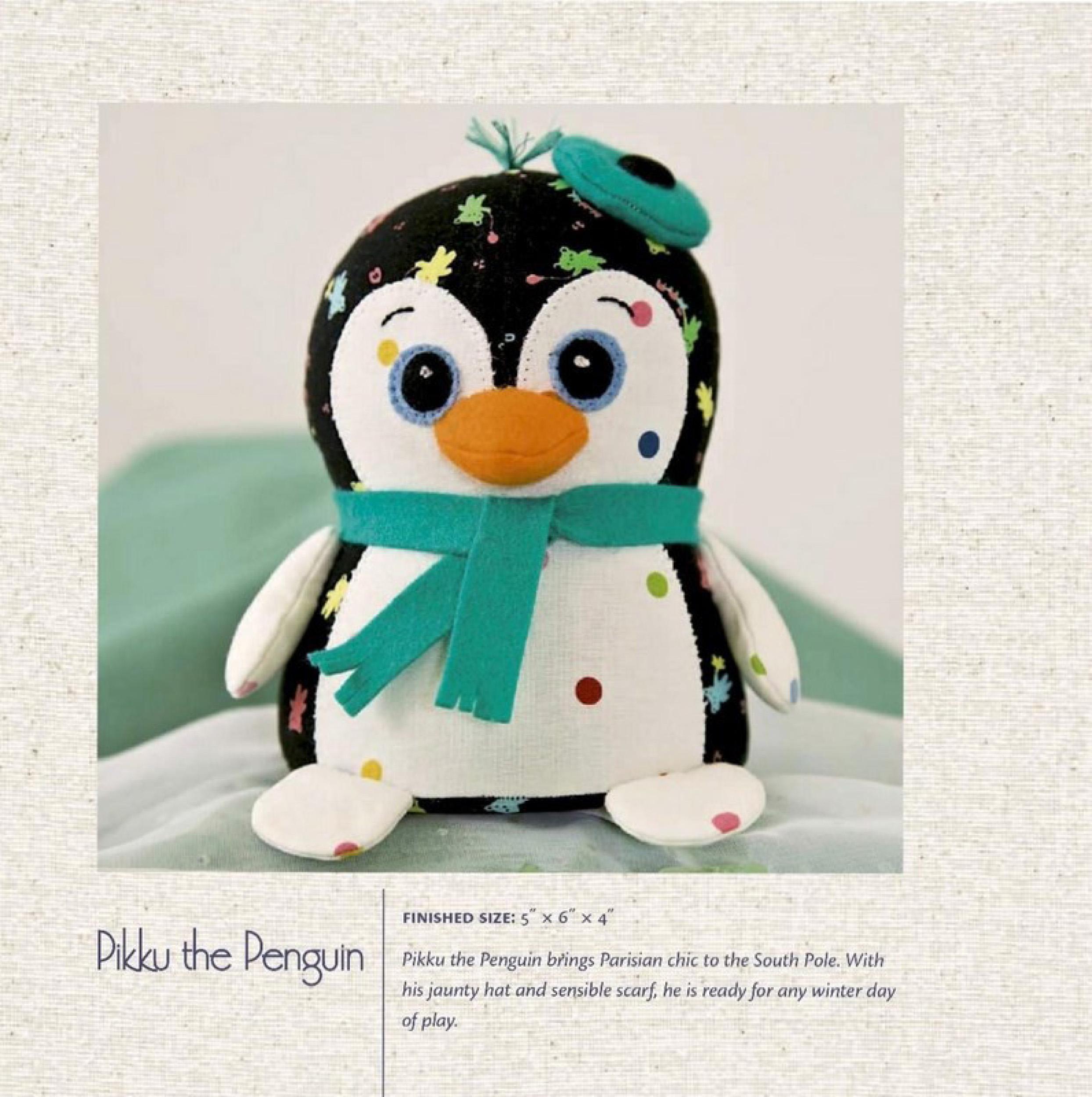 Сшить пингвина своими руками мастер класс