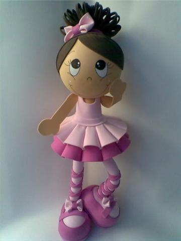 bailarina 2.molde